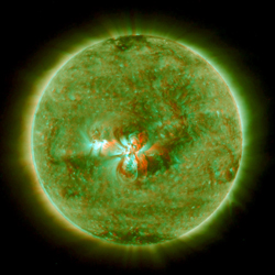STEREO image of the sun