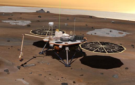 Марсоход Phoenix Mars.