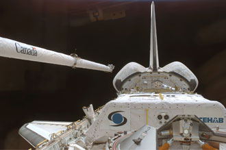 SPACEHAB modules have ridden shuttles into orbit more than a dozen times.