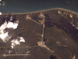 ISS015-E-13073 : Kennedy Space Center and Cape Canaveral, Florida
