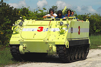 M-113 armored personnel carrier training