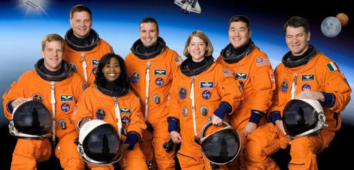 sts120-s-002 -- The STS-120 crew