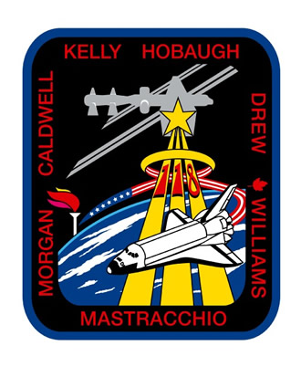 STS-118 Mission Patch