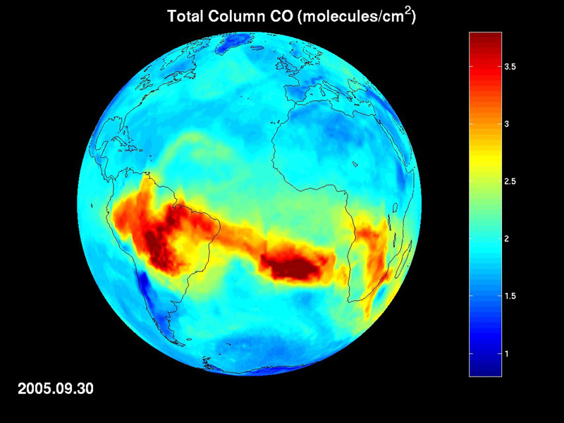 NASA - New NASA AIRS Data to Aid Weather, Climate Research