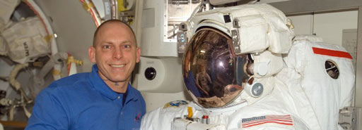 iss015e15680 -- Expedition 15 Flight Engineer Clay Anderson