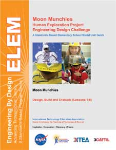 The cover page of the Moon Munchies Educator Guide