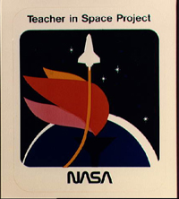 Teacher in Space project logo