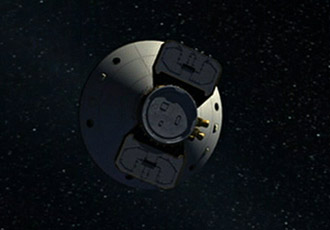 artist concept of Phoenix in space