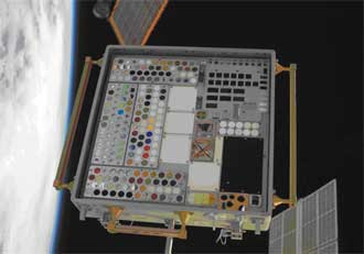 Materials on the International Space Station Experiment-4, or MISSE-4
