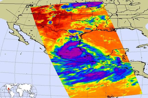 NASA - Hurricane Season 2007: Dean (Atlantic) Intellicast Atlantic Satellite on
