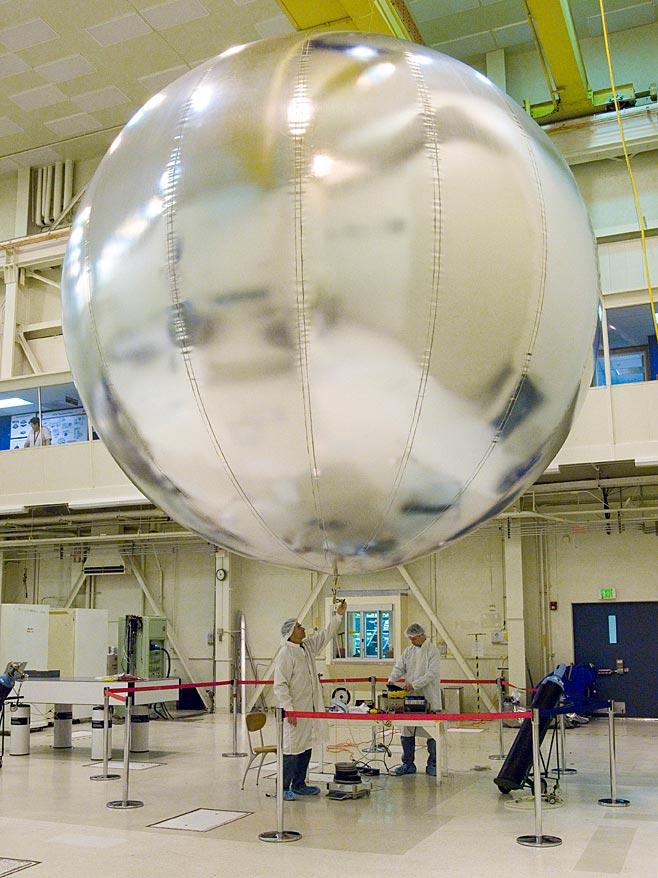 mars rover landing balloons - photo #7