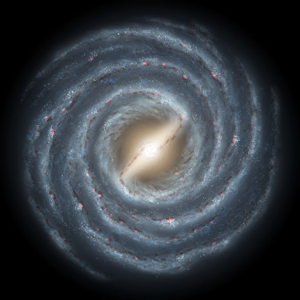 Image result for milky way galaxy