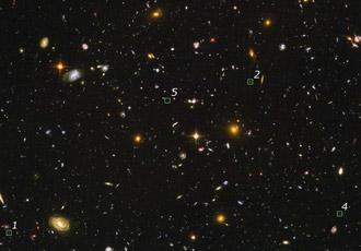 NASA  Hubble Digs Deeply