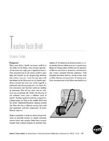 The first page of the Abrasion Tester activity