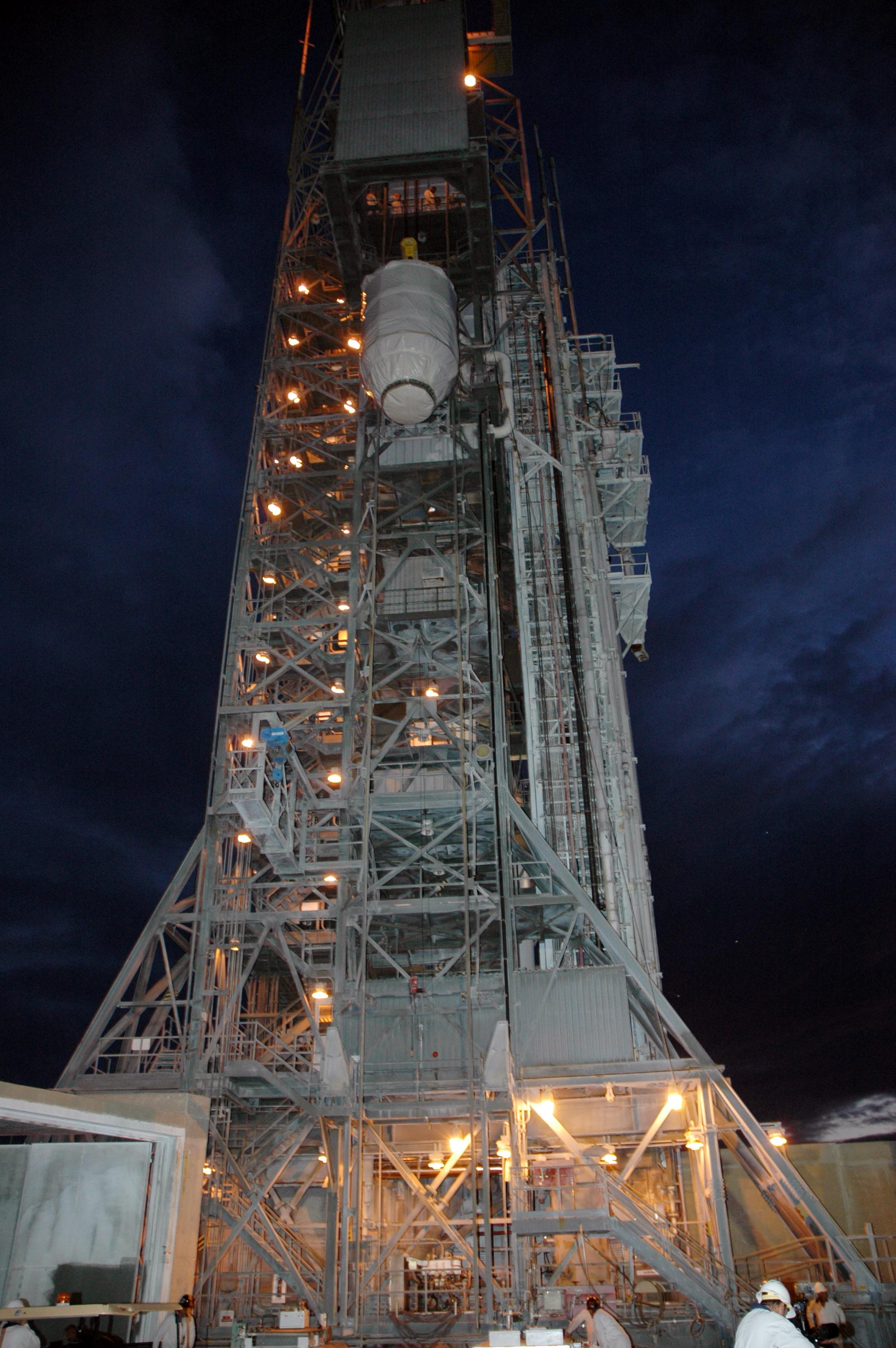 nasa launch pad tower pics about space