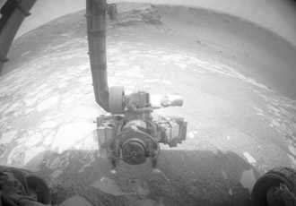 Opportunity's view of Victoria Crater