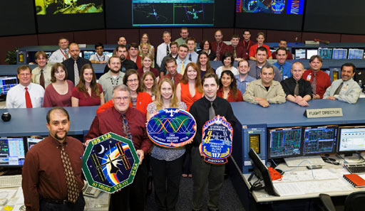 jsc2007e029877 -- International Space Station flight control team