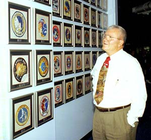 Fred Haise talked about the Apollo 13 mission and what the agency learned from it.