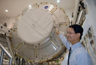 Glenn Chin, Harmony payload mission manager