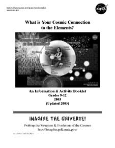 The cover page of What is Your Cosmic Connection to the Elements? (2005)