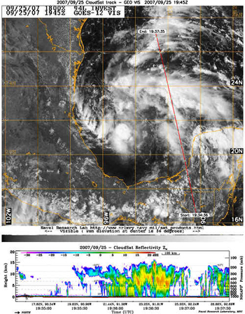 Image of Tropical Depression 13