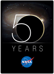 NASA 50th Anniversary Logo