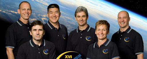 iss016-s-002f -- Participating Expedition 16 crew members