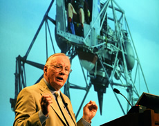 Neil Armstrong, described the unorthodox training vehicle that taught him how to land on the lunar surface.