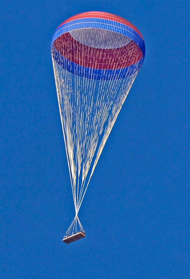 NASA - First Test: Main Parachute for Ares I Rocket
