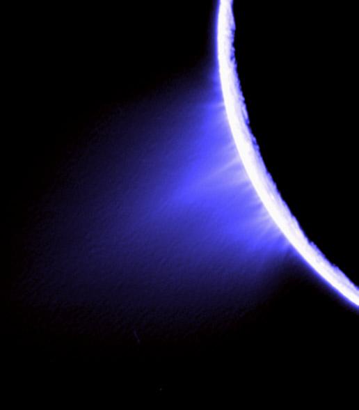 jets on Enceladus