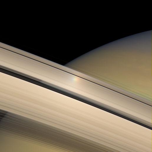 Гало на Сатурне