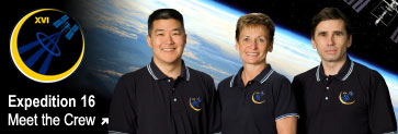 Meet the Expedition 16 crew