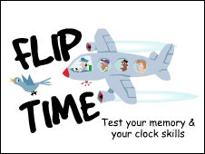 Screenshot of the Flip Time game