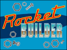 Screenshot of the Rocket Builder game