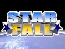 Screenshot of the Star Fall game