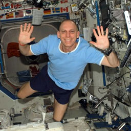 ISS015-E-19626 -- Astronaut Clay Anderson