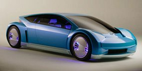 Hydrogen fuel-cell hybrid-electric concept vehicle