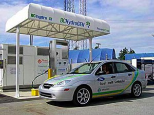 Hydrogen fueling station in Vancouver, Canada