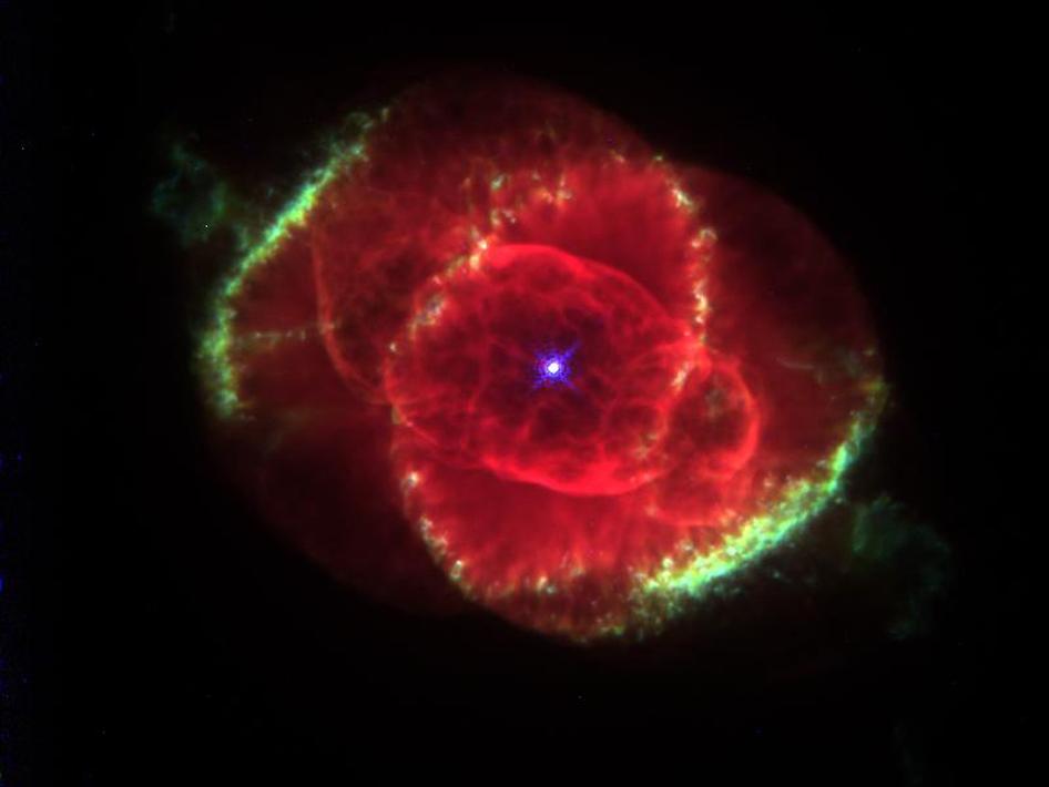 Cat's Eye Nebula Hubble