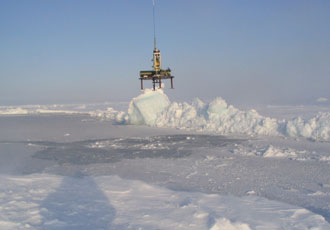 Scientists used measurements from Arctic Bottom Pressure Recorders