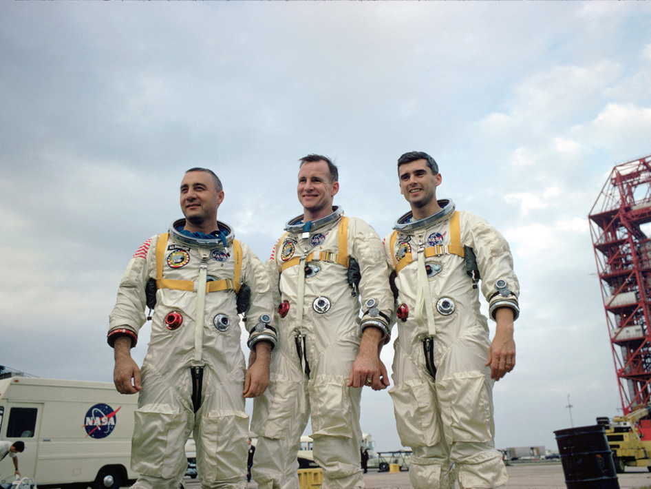 Apollo 1's crew--Virgil I.