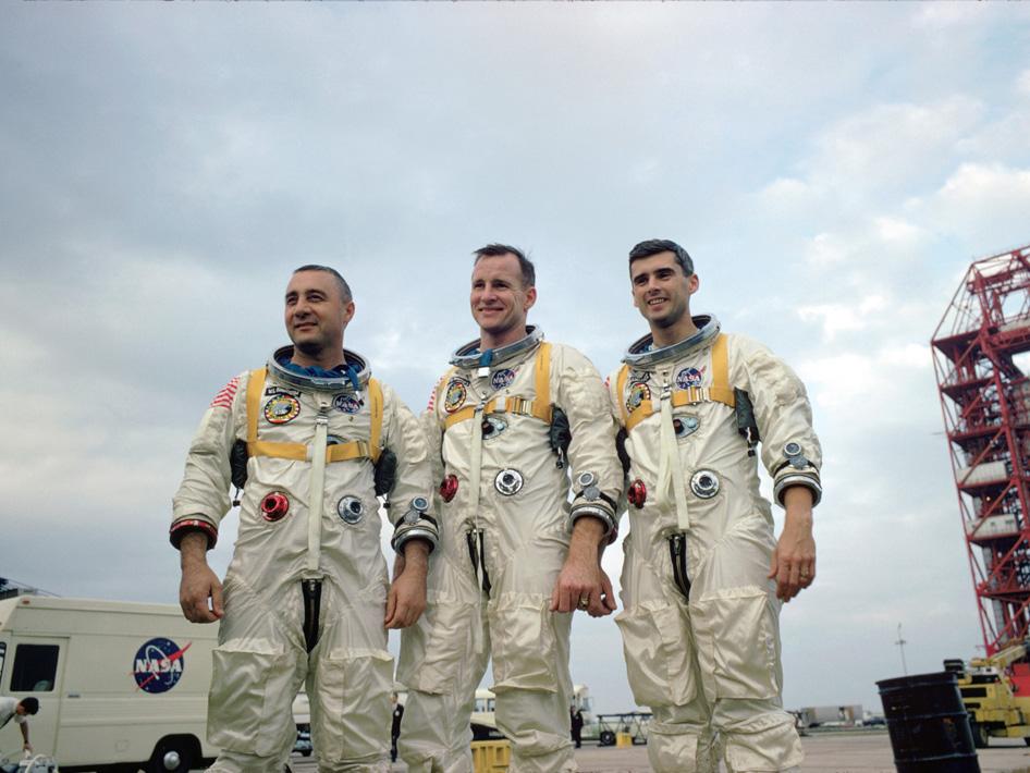 Apollo 1's crew--Virgil I.