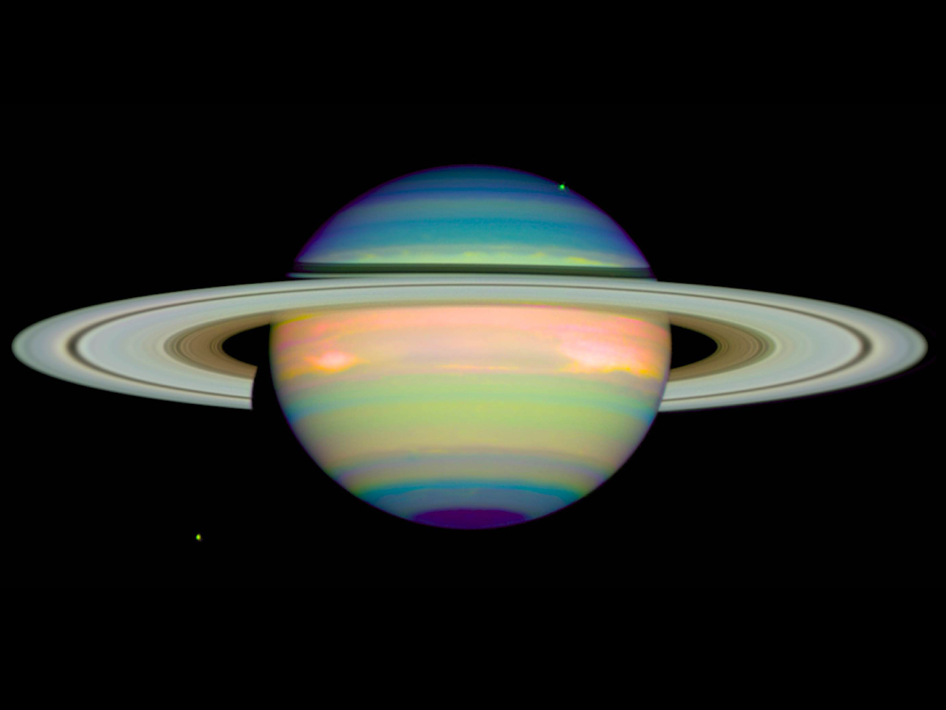 saturn planet real color - photo #2