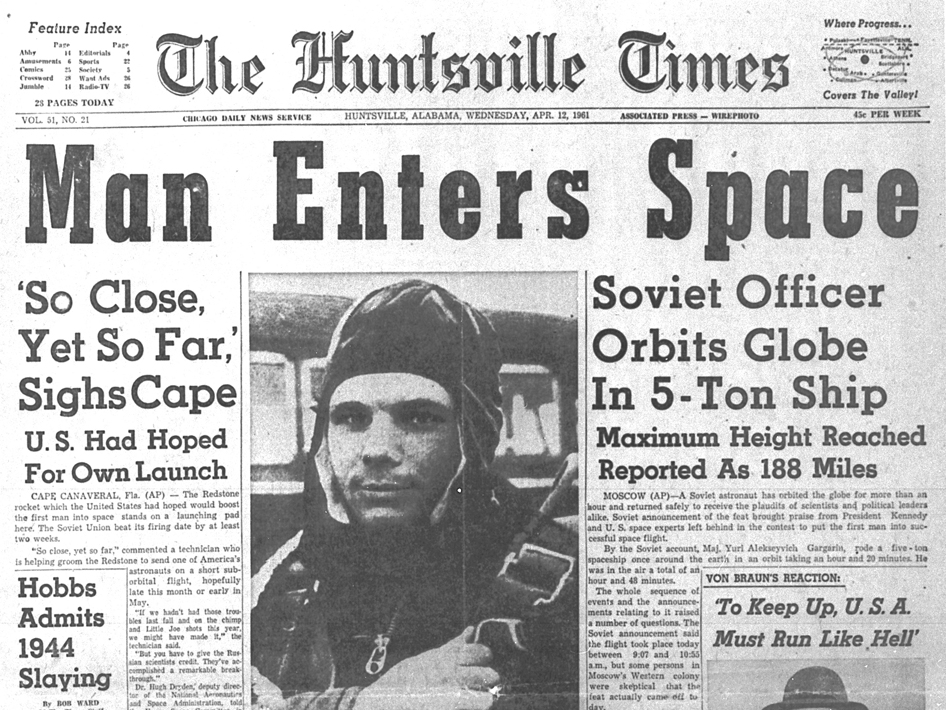 On April 12, 1961, the era of human spaceflight began