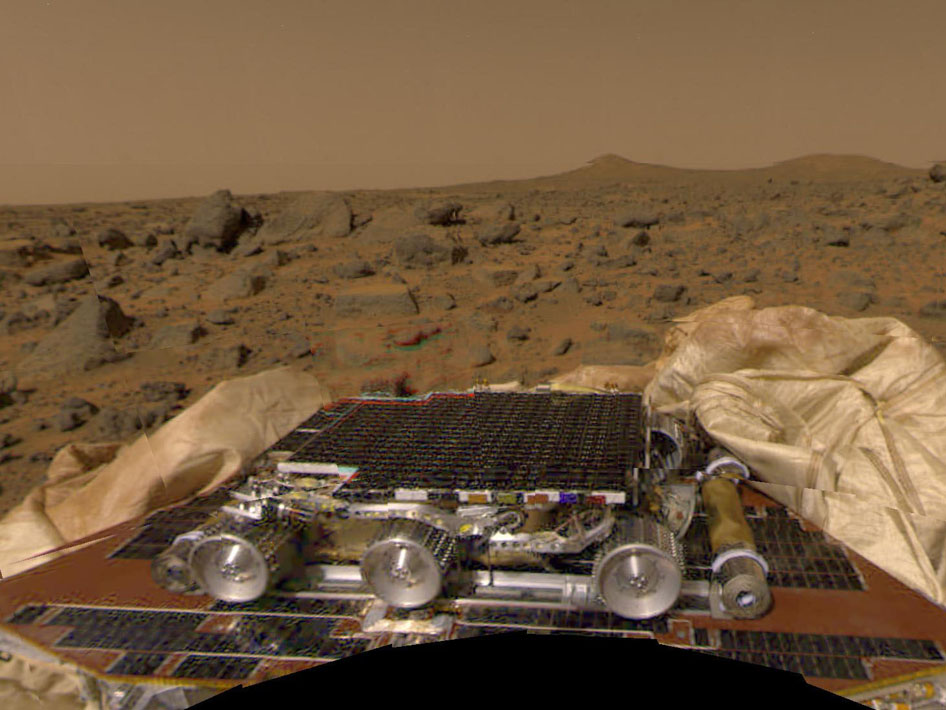 NASA Pathfinder Rover (page 2) - Pics about space