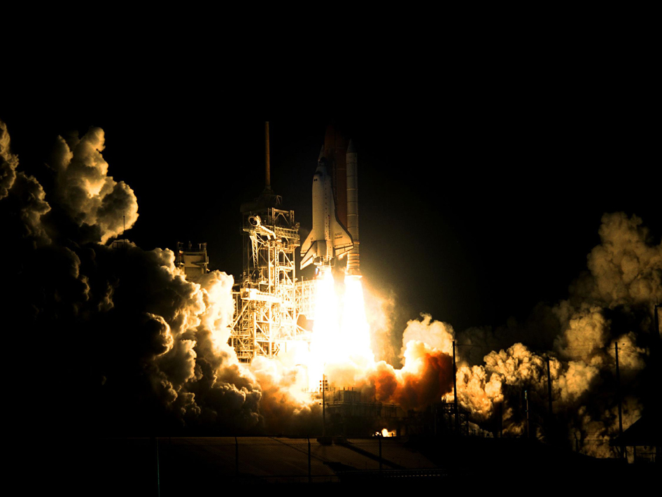space shuttle endeavour night launch - photo #43