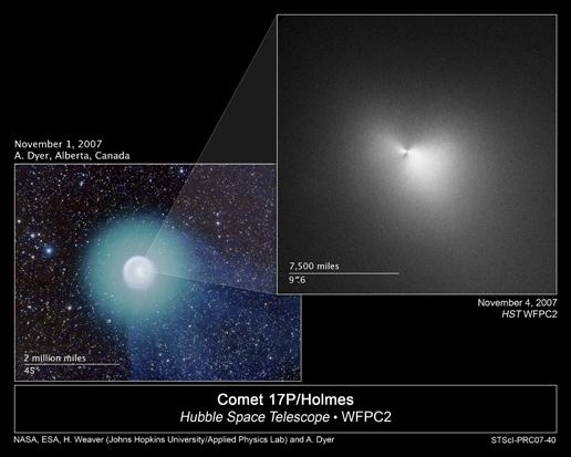 Comète 71P Holmes: éclat soudain!!! - Page 2 201835main1_hstcomet_20071115_516px