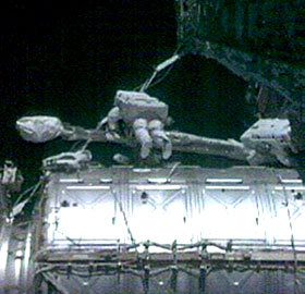 Expedition 16 spacewalk