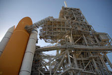 Atlantis on Launch Pad 39A
