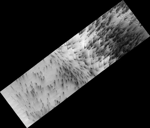 Dry Ice Etches Terrain